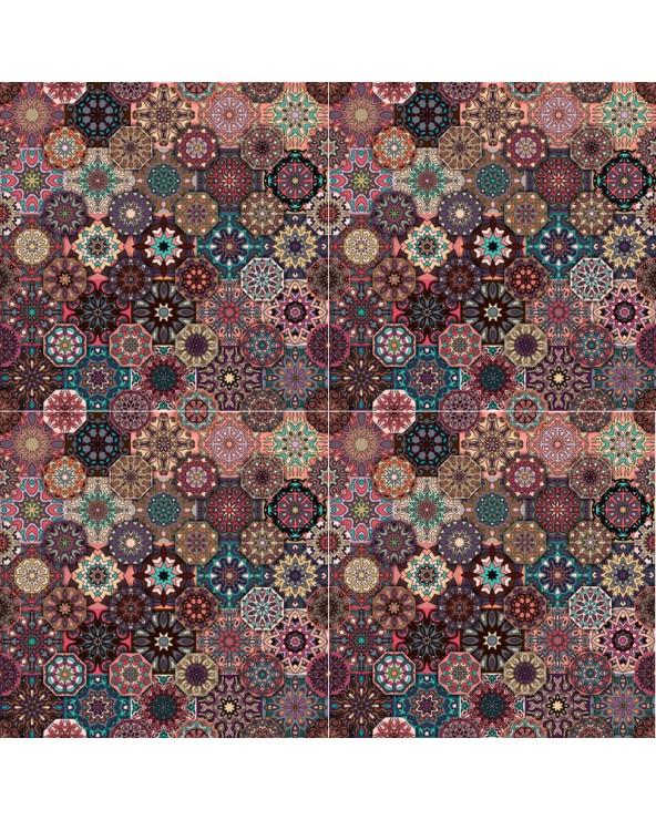Assemblage 4 motifs Marrakech