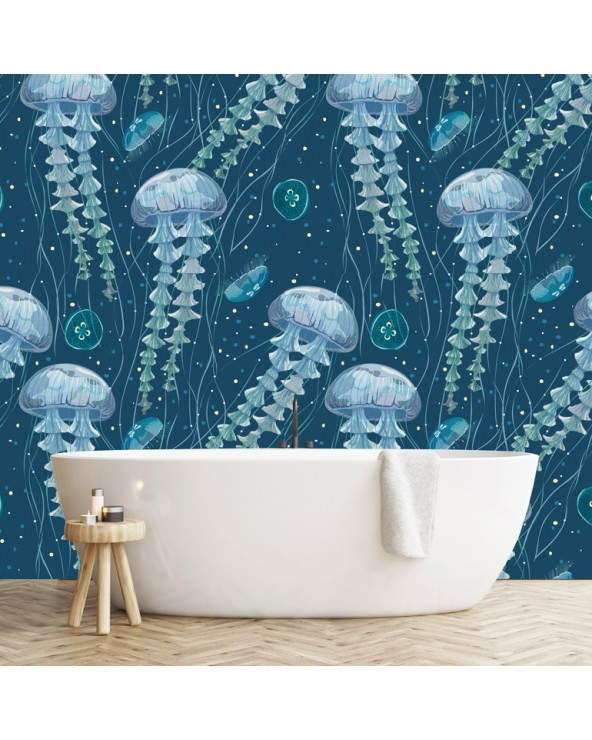 Ambiance Medusa bleue