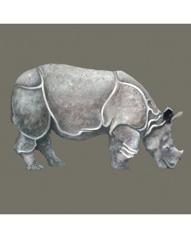"Collection Anima ""Rhinocéros"" - Pascale Lapeyre"