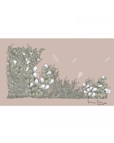 "Motif sur mesure ""Cultiver son jardin"" Rose"