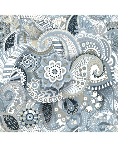 Ambiance Paisley Gris