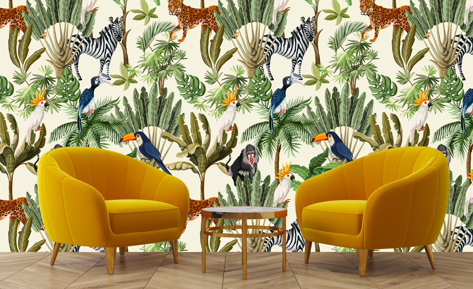 Wall Paper Jungle